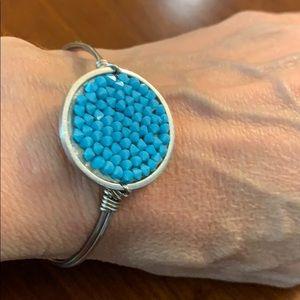 Luca & Danni turquoise druzy bracelet NWT